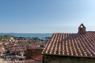 panorama di Bolsena lago di Bolsena