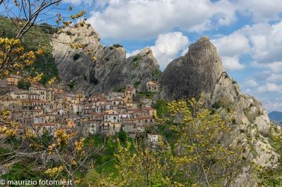 Castelmezzano Dolomiti Lucane volo dell'angelo