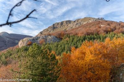 Monte Volturino in provincia di Potenza